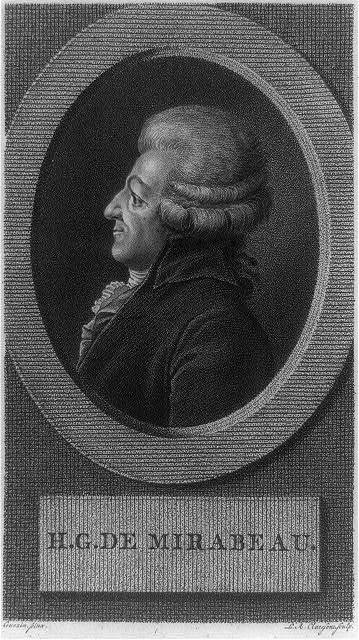 H.G. de Mirabeau / L.A. Claessens, sculp ; Guezin, pinx.