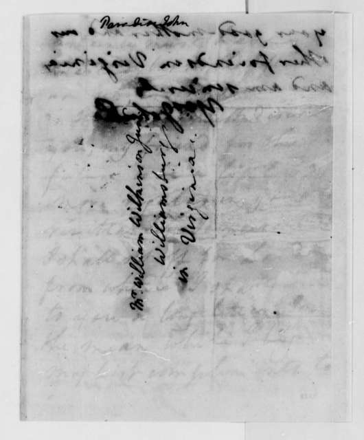 John Paradise to William Wilkinson, July 11, 1789