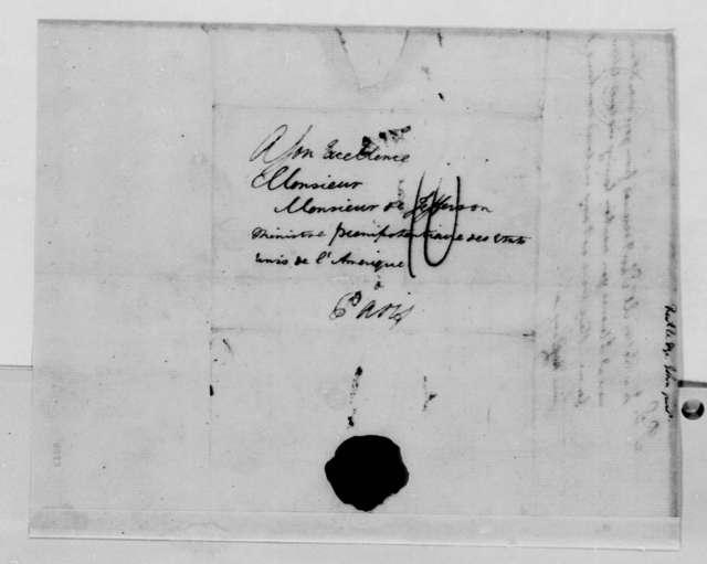 John Rutledge, Jr. to Thomas Jefferson, April 3, 1789