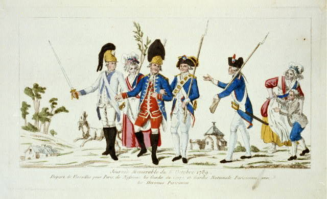 Journée memorable du 6 Octobre 1789
