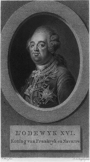 Lodewyk XVI. Koning van Frankryk en Navarre / L.A. Claessens, sculp. ; J. Boze, pinx.
