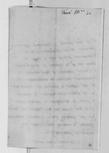 Madame de Tesse to Thomas Jefferson, July 20, 1789