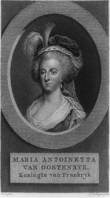 Maria Antoinetta van Oostenryk. Koningin van Frankryk / L.A. Claessens, sculp. ; Curtus, pinx.