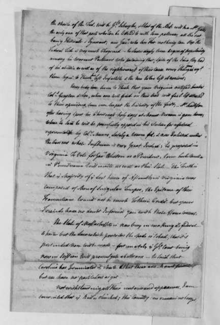 Michel Guillaume Jean de Crevecoeur (John Hector St. John) to Thomas Jefferson, January 5, 1789