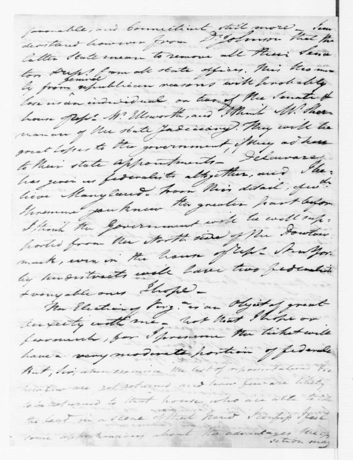 Tench Coxe to James Madison, January 29, 1789.