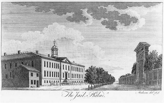 The jail, Philada. / Malcolm delt. et sc.