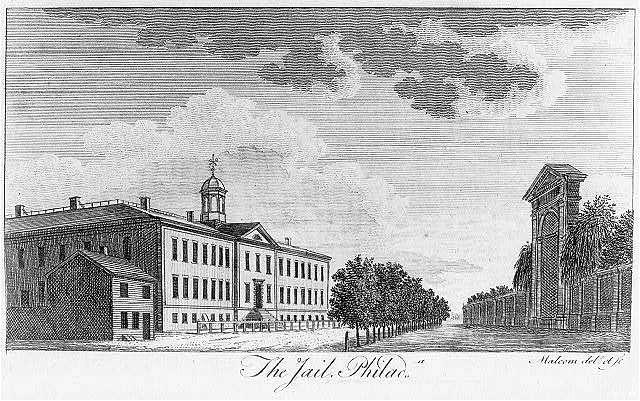 The jail, Philada. Malcolm delt. et sc