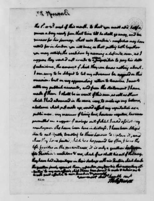 Thomas Jefferson to Edward Bancroft, March 30, 1789