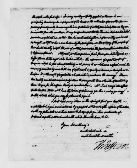 Thomas Jefferson to Jacques Necker, September 1789