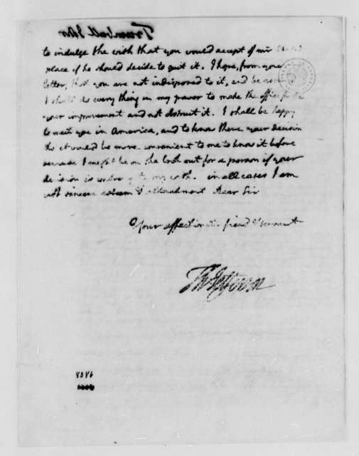 Thomas Jefferson to John Trumbull, June 1, 1789