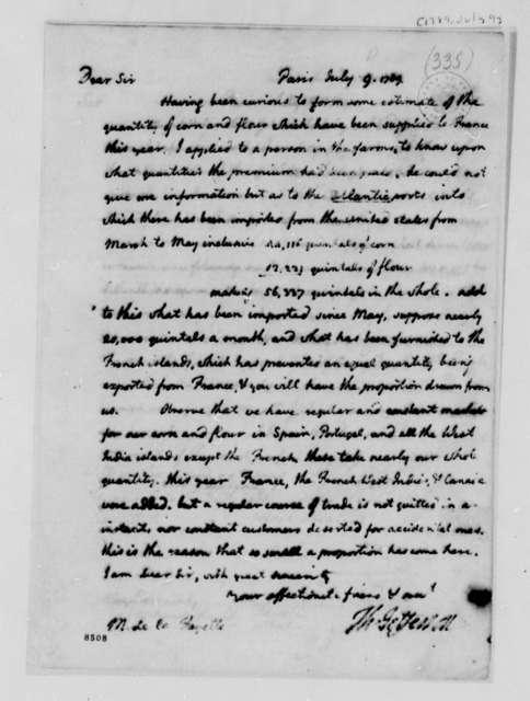 Thomas Jefferson to Marie Joseph Paul Yves Roch Gilbert du Motier, Marquis de Lafayette, July 10, 1789