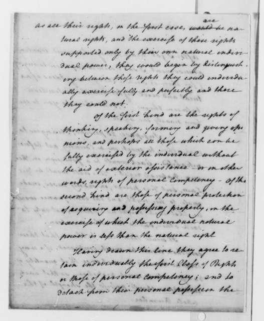 Thomas Paine to Thomas Jefferson, 1789