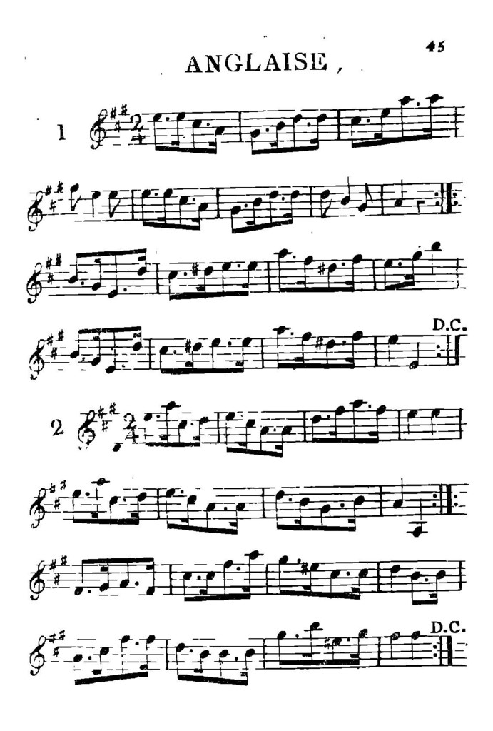 15e.[-30e.] recueil des contre-danses et walzes