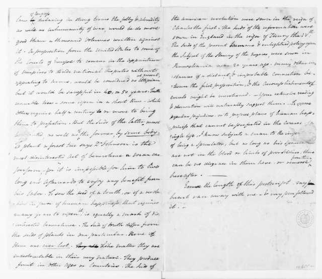 Benjamin Rush to James Madison, February 27, 1790.