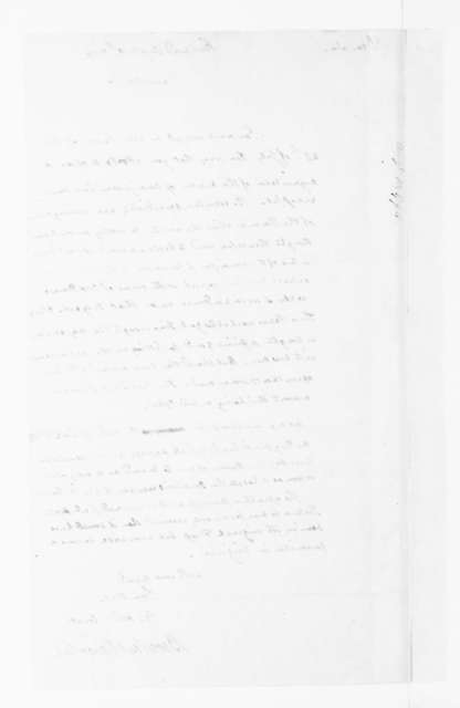 Beverley Randolph to James Madison, August 10, 1790.