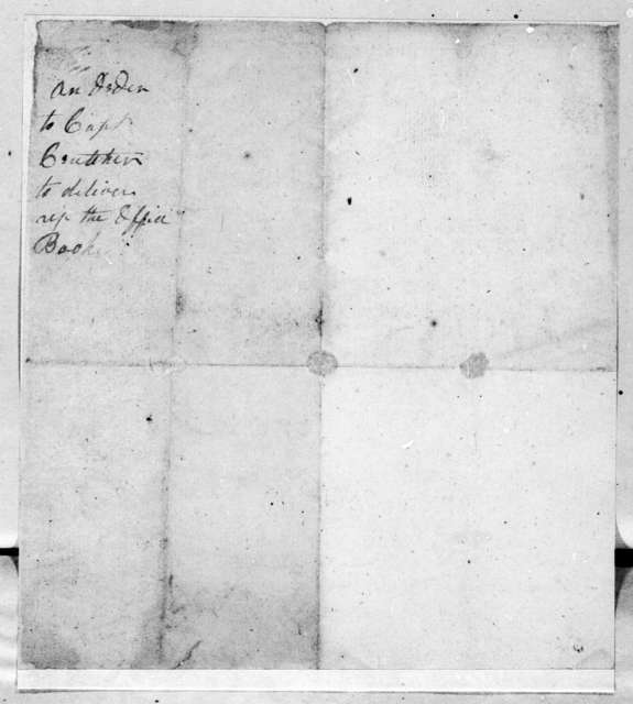 David Allison to Anthony Crutcher, December 18, 1790