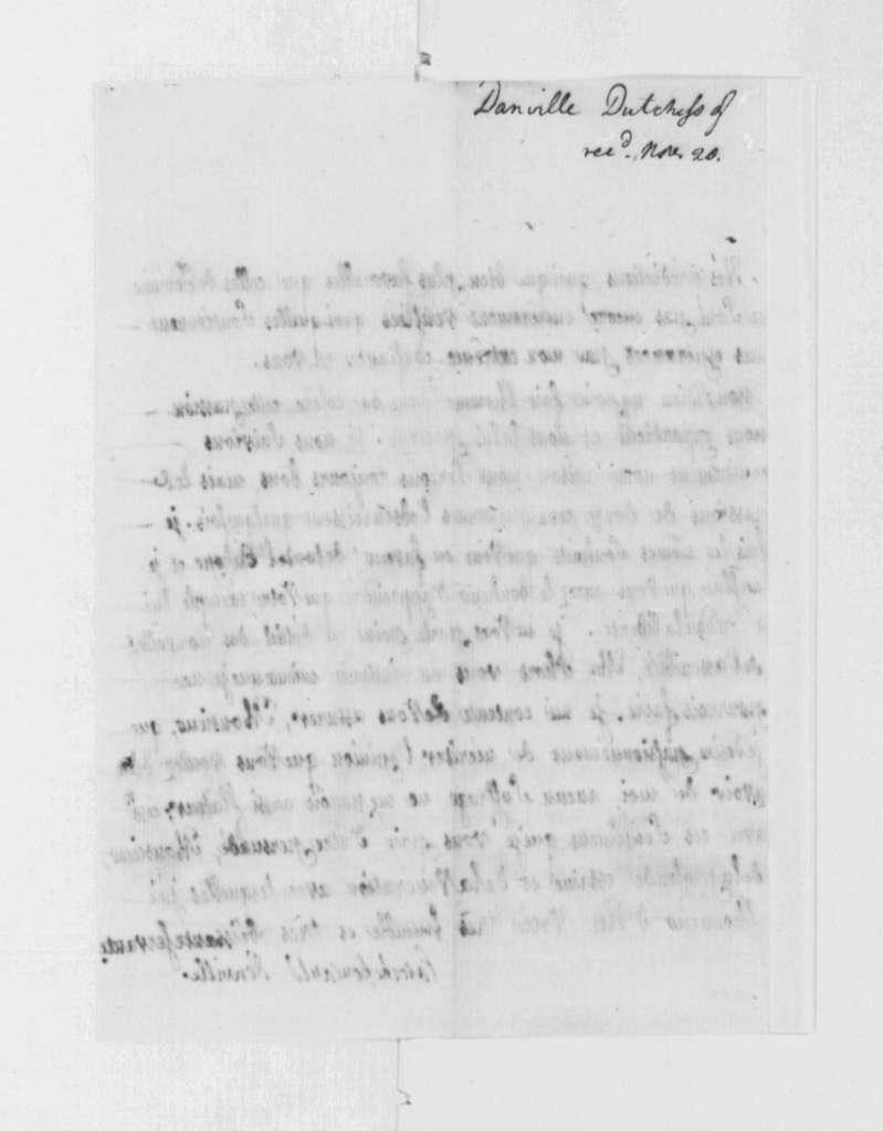 Duchess la Rochefoucauld to Thomas Jefferson, July 27, 1790, in French