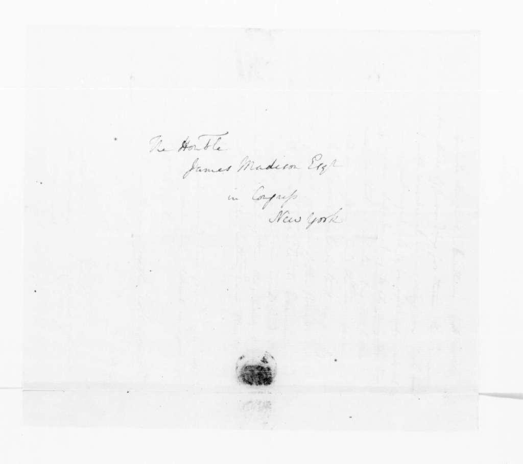 Edward Carrington to James Madison, February 5, 1790.