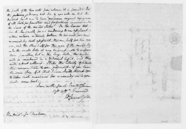 Edward Carrington to James Madison, May 3, 1790.
