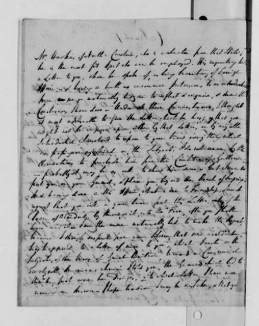 Edward Rutledge to Thomas Jefferson, 1790