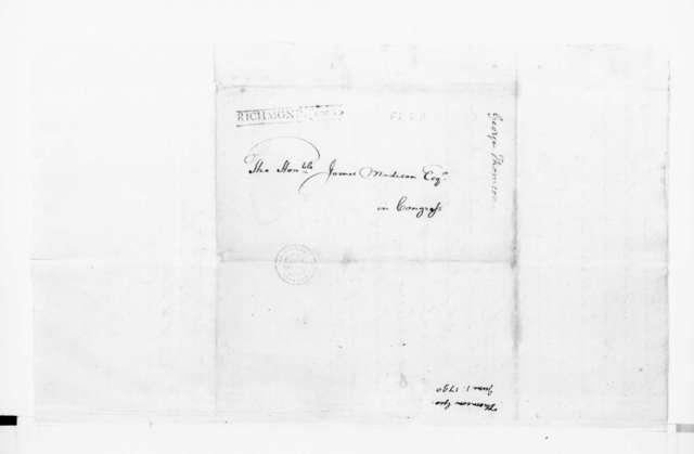 George Thompson to James Madison, June 1, 1790.