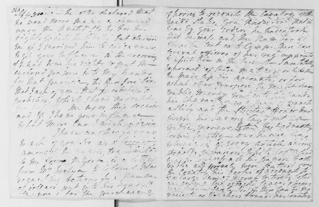 George Washington Papers, Series 4, General Correspondence: Martha D Bland to George Washington, July 4, 1790