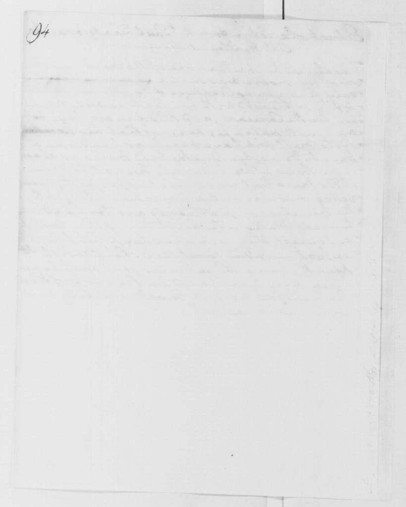 George Washington Papers, Series 4, General Correspondence: Paul Zantzinger to Thomas Hartley, February 1790, Extract