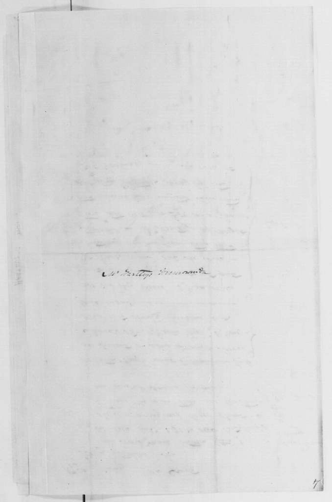 George Washington Papers, Series 4, General Correspondence: Thomas Hartley, January 1790, List of Prices of Mares for Purchase