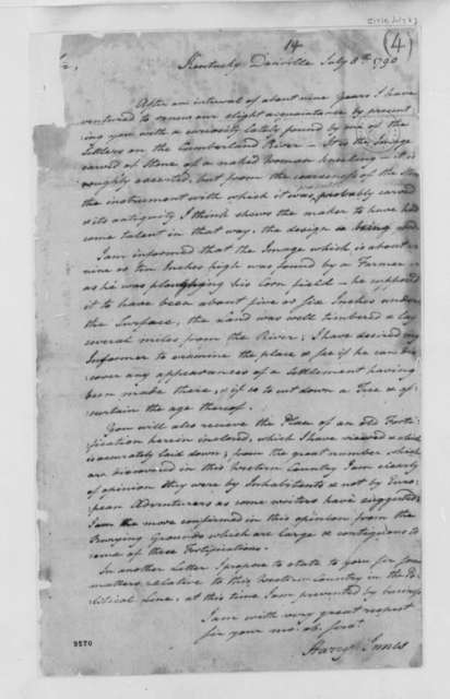 Harry Innes to Thomas Jefferson, July 8, 1790