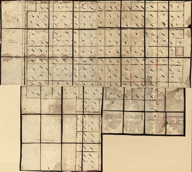 [Land ownership map of the William Bingham estate in Potter County, Pennsylvania /