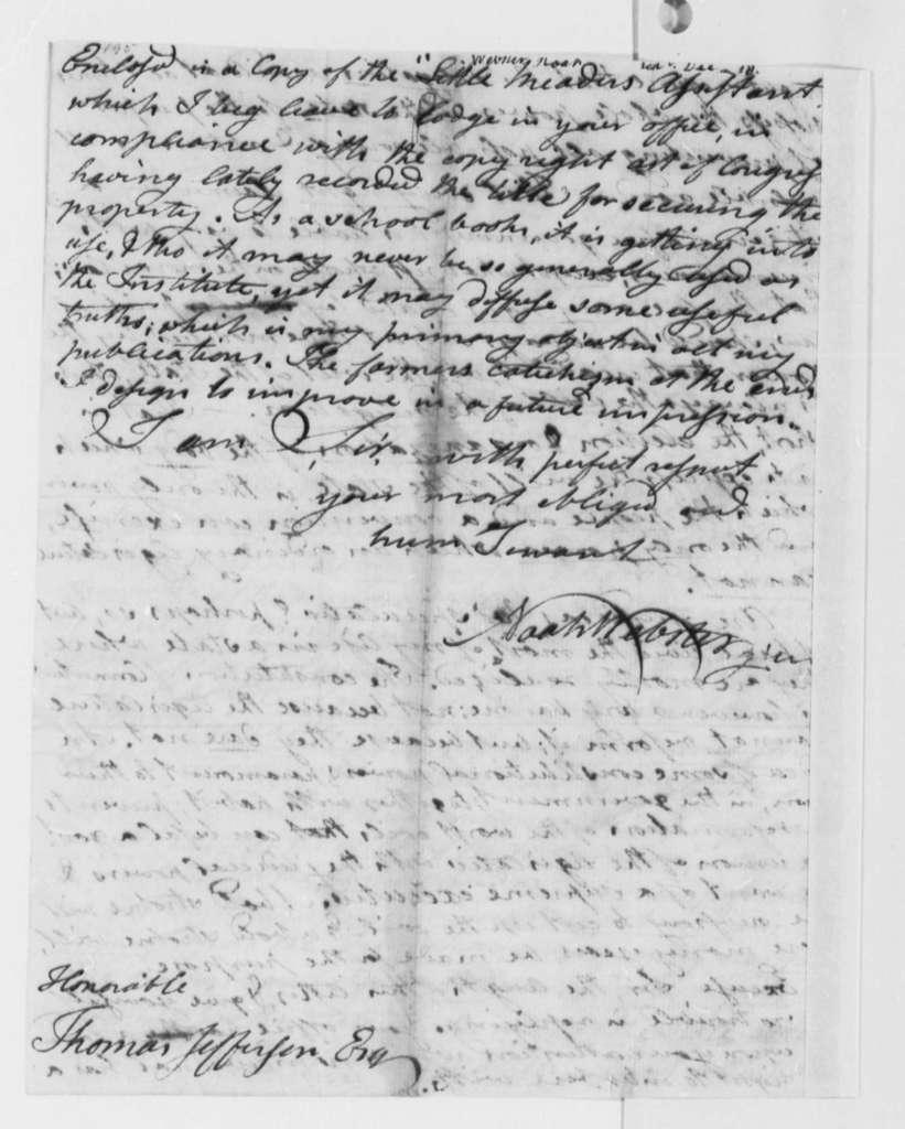 Noah Webster, Jr. to Thomas Jefferson, December 14, 1790