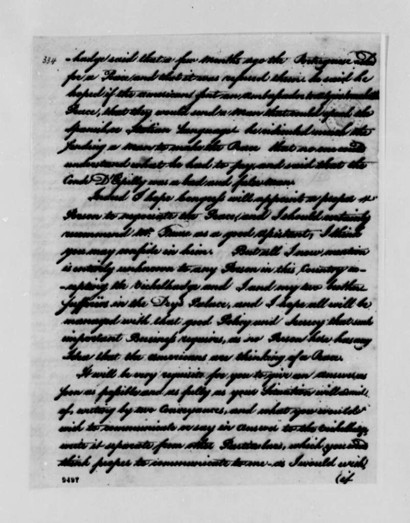 Richard O'Brien to William Carmichael, June 24, 1790
