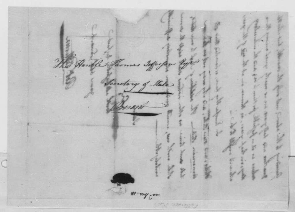Robert Patterson to Thomas Jefferson, December 18, 1790