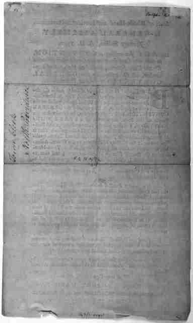 State of Rhode-Island and Providence plantation. In General Assembly, January session, A. D. 1790. An act for calling a convention, to take into consideration the constitution proposed for the United States, passed on the 17th of September, A. D