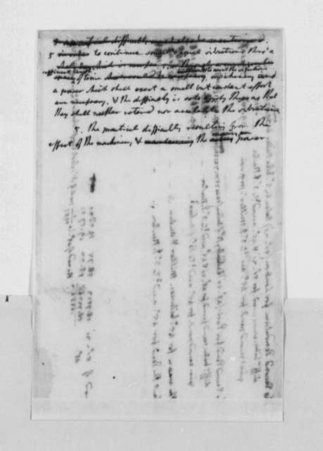 Thomas Jefferson, July 4, 1790, Notes and Figures on Weights and Measures