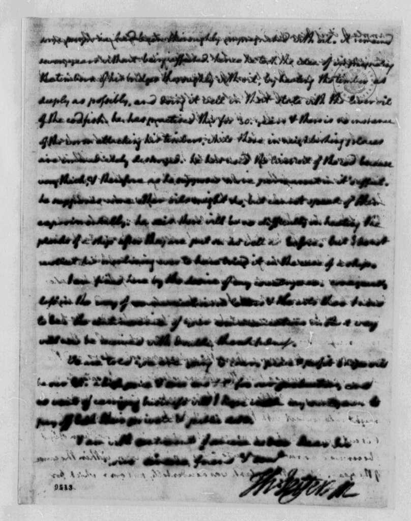 Thomas Jefferson to Benjamin Vaughan, June 27, 1790, with Copy