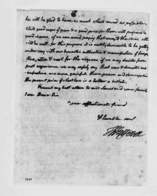 Thomas Jefferson to Nicholas Lewis, July 4, 1790