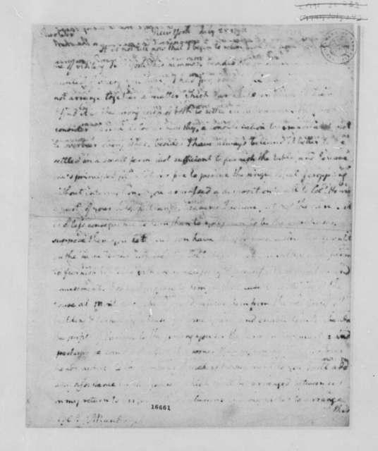 Thomas Jefferson to Thomas Mann Randolph, Sr., July 28, 1790, Illegible