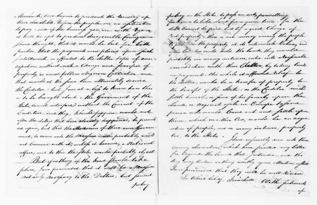 Thomas Pleasants to James Madison, July 10, 1790.