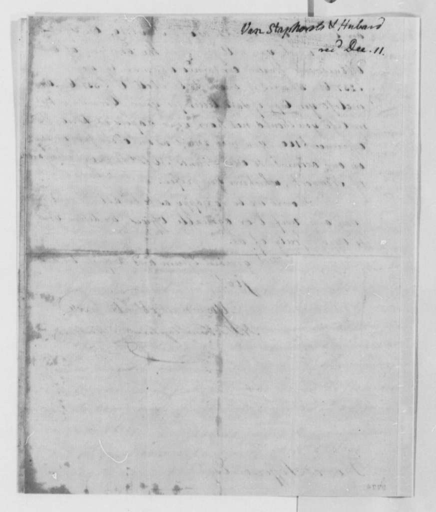 Van Staphorst & Hubbard to Thomas Jefferson, September 3, 1790