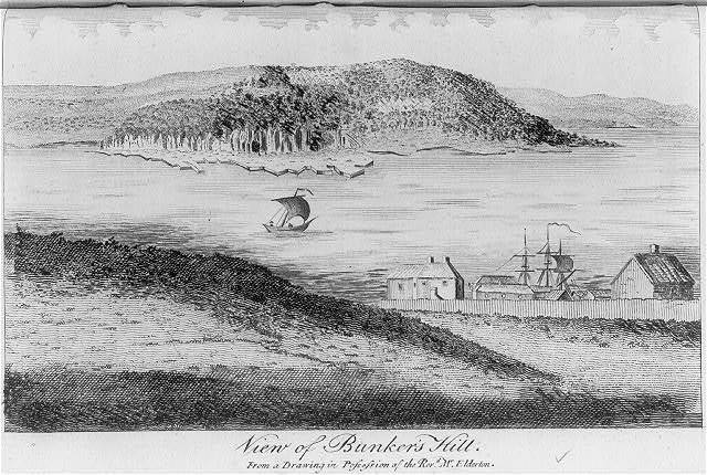 View of Bunker's Hill - from a drawing in possession of the Revd. Mr Elderton, Feby. 1790