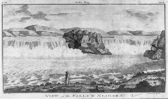 View of the falls of Niagara / del. 1790 ; engrav'd by S. Hill.
