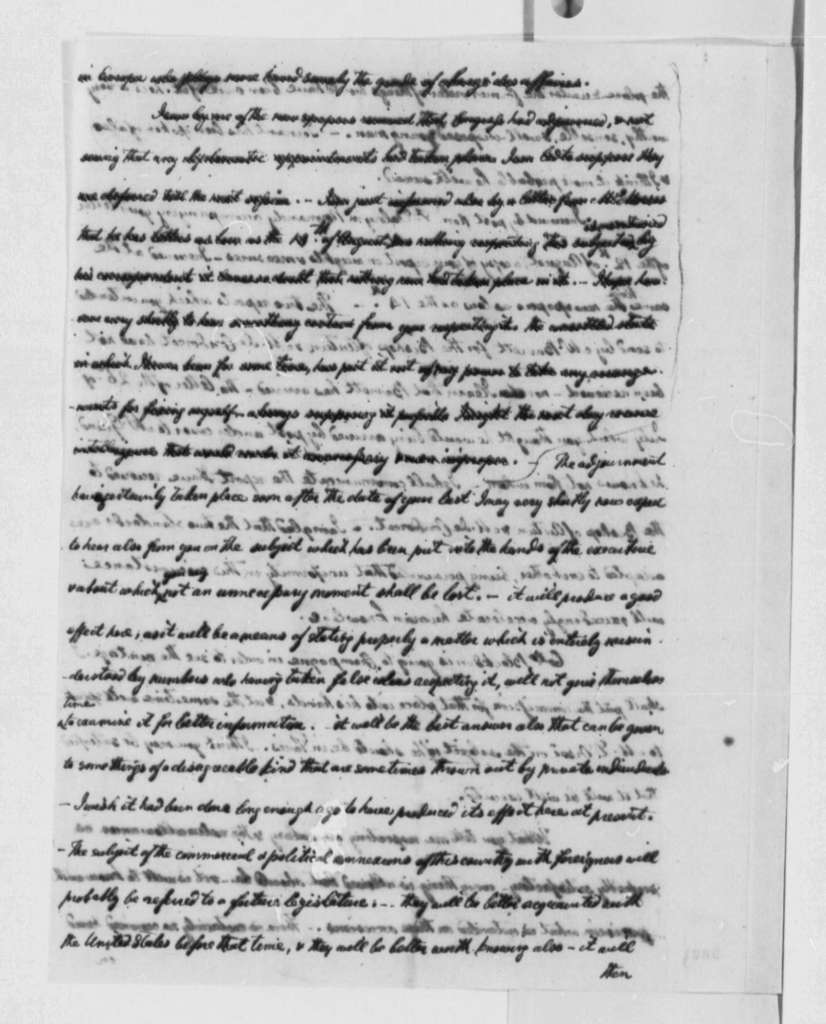 William Short to Thomas Jefferson, September 26, 1790