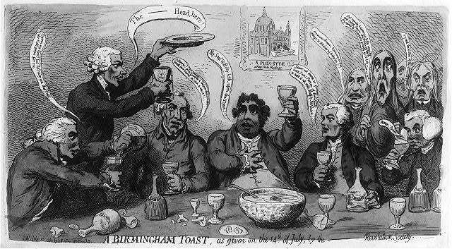 A Birmingham toast, as given on the 14th of July by the--revolution society