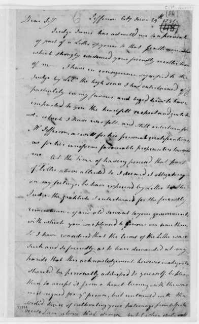 George Rogers Clark to Thomas Jefferson, June 29, 1791