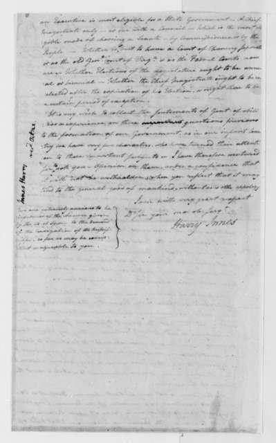 Harry Innes to Thomas Jefferson, August 27, 1791