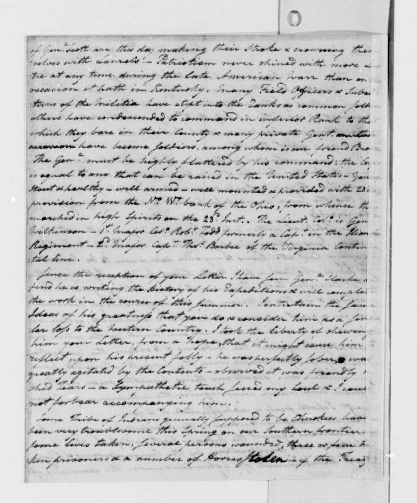Harry Innes to Thomas Jefferson, May 30, 1791