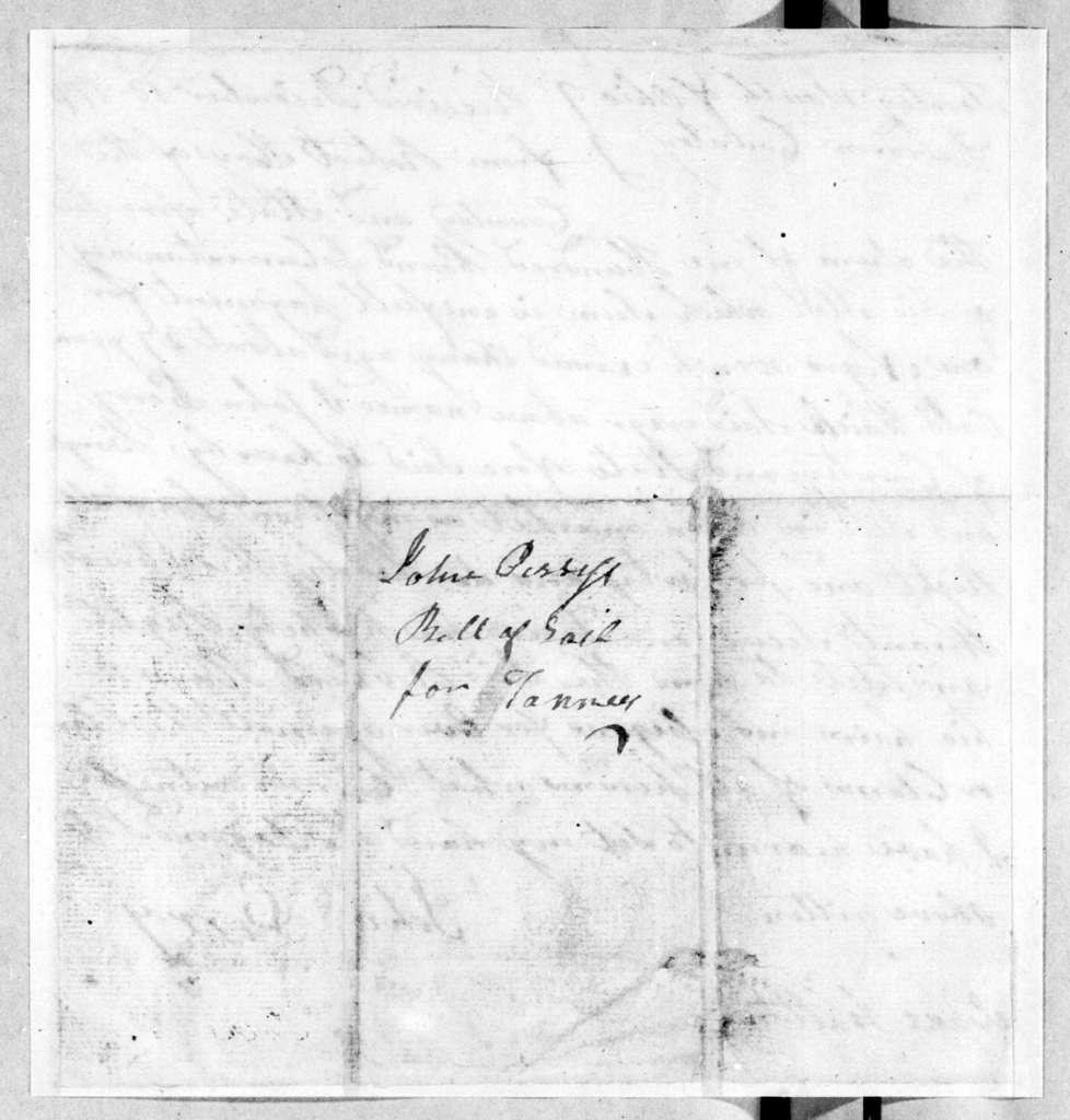 John Perry to Robert Hays, December 18, 1791
