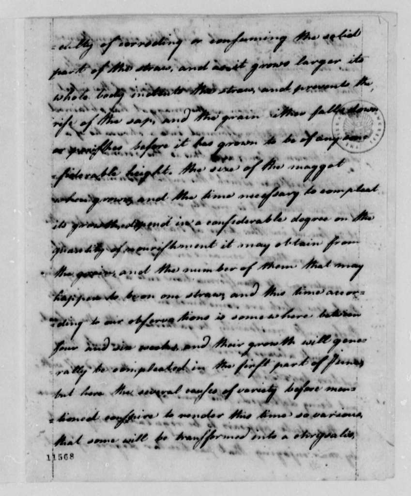 Jonathan Havens and Sylvester Dering to Thomas Jefferson, November 1, 1791