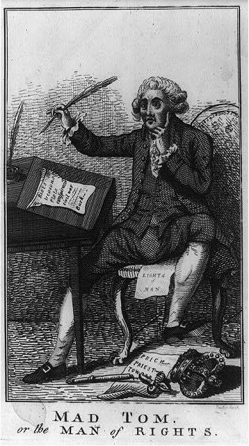 Mad Tom, or The man of rights / Hannibal Scratch, fecit.